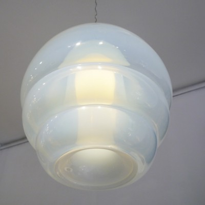 Model LS134 Pendant Light by Carlo Nason For Mazzega
