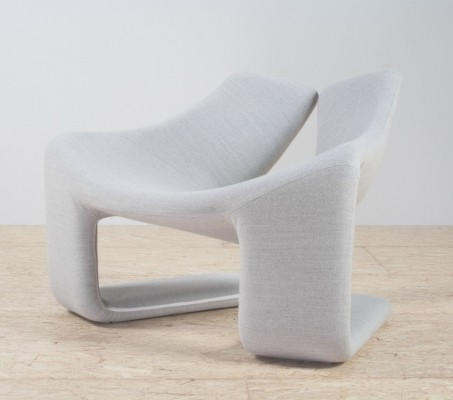 'Zen' Lounge chair by Kwok Hoi Chan for Steiner, 1969