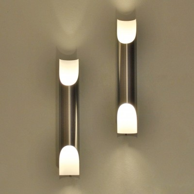2 x Fuga wall lamp by Maija Liisa Komulainen for Raak Amsterdam, 1970s