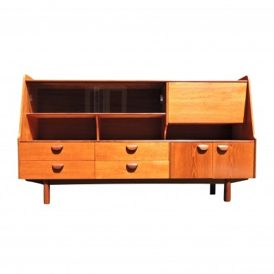 Mid-Century Teak Highboard from Portwood, 1960s