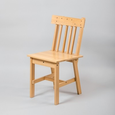 German Beech Chairs, 1980s