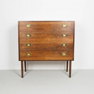 Danish design rosewood chest of drawers, 1960's