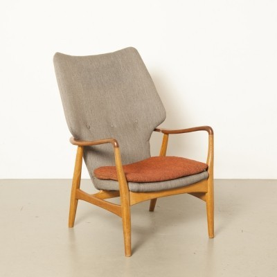 High Armchair by Aksel Bender Madsen for Bovenkamp
