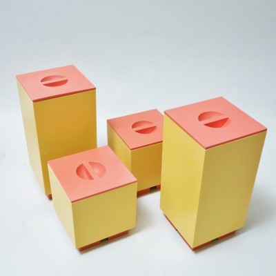 Euclid Boxes by Michael Graves for Alessi, 1980s