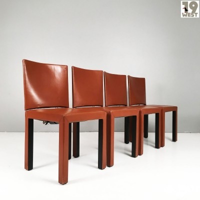 Four postmodern Arcadia chairs by Paolo Piva for B&B Italia