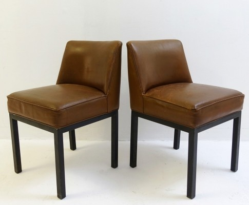 Pair of 'Louise' Chairs By Jules Wabbes For Mobilier Universel, 1960s