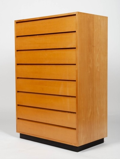 Maple drawers chest with 8 drawers by Kurt Thut for Thut Möbel