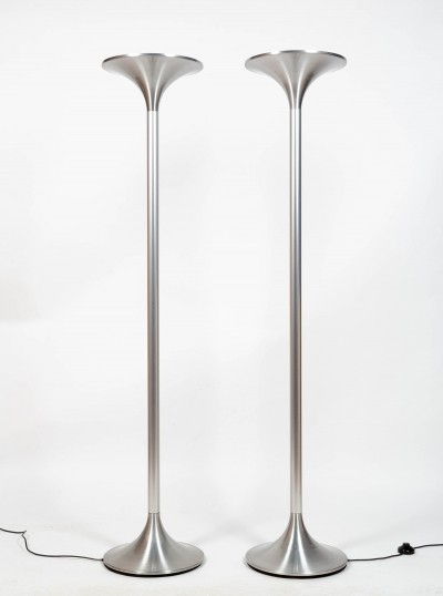 Rare pair of 'Jericho' floor lamps by Rosmarie & Rico Baltensweiler