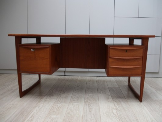 Model 88 writing desk by Svend Aage Madsen for Sigurd Hansen, 1960s