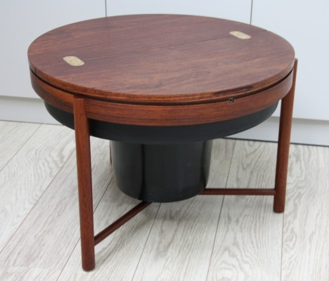 'Syklus' Bar table in rosewood by Rastad & Relling, Norway 1960's