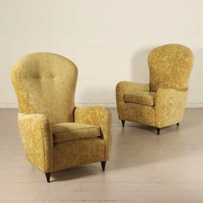 Pair of Armchairs, 1940s-1950s