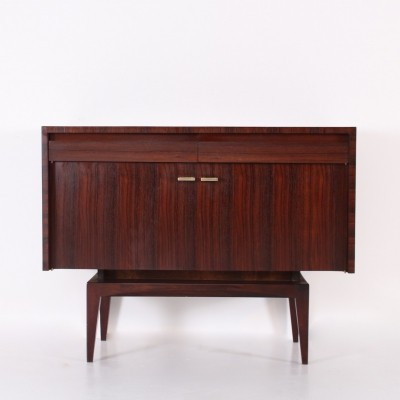 'RIO' rosewood cabinet by Roger Landault for ABC Meubles