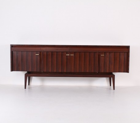 'RIO' rosewood sideboard by Roger Landault for ABC Meubles