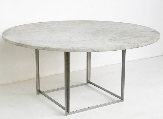 Poul Kjaerholm Low PK 54 Table for E. Kold Christensen, Denmark 1963
