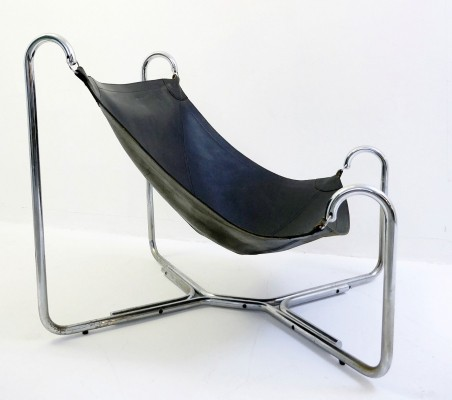 'Baffo' Chair By Gianni Pareschi And Ezio Didone For Busnelli, Italy 1969