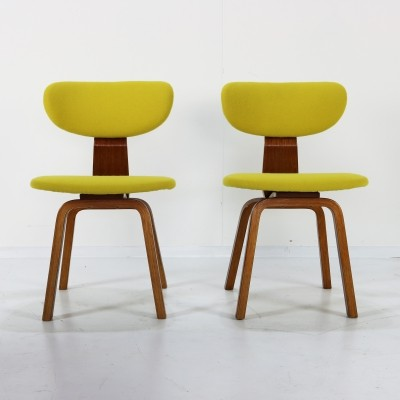 Pair of SB37 dinner chairs by Cees Braakman for Pastoe, 1960s