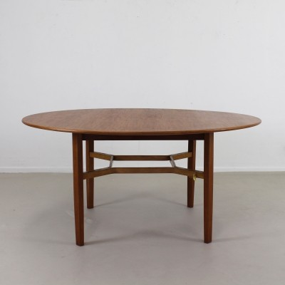 Low conference bridge/game table by Lewis Butler for Knoll International