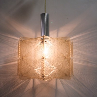 Vintage pendant light by Paul Secon for Sompex, 1960s