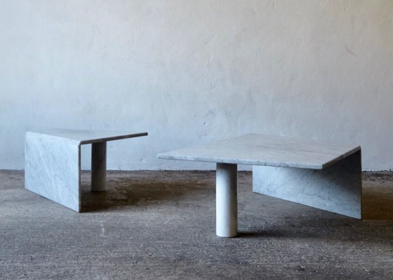 Post Modern Angular Stone coffee Tables