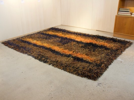 Deep-pile rug by Atelier 't Paapje in circa 1960
