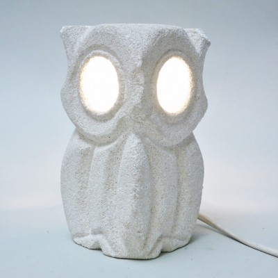 Owl desk lamp by Albert Tormos for Sculpteur Tormos, 1970s