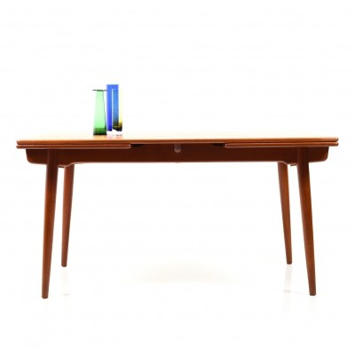 Hans J. Wegner Dining Table Model AT 312 in Teak