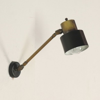 Adjustable Wall Lamp, 1950s