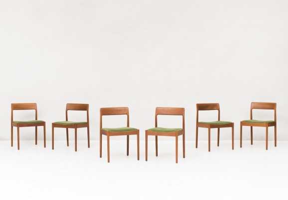 Set of 6 dining chairs by Norgaard Mobelfabrik, Denmark 1960s