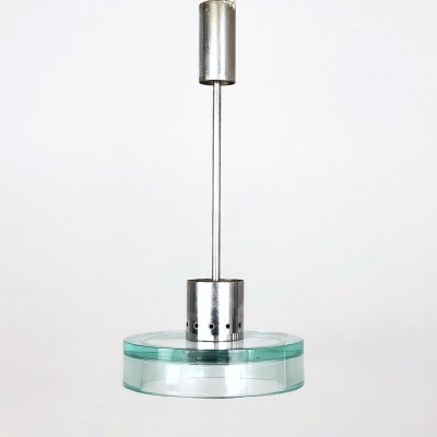 Murano glass Pendant light by Seguso, 1960s