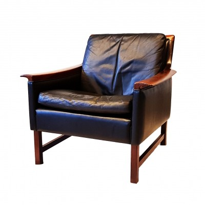 Leather 'Minerva' Armchair by Torbjorn Afdal