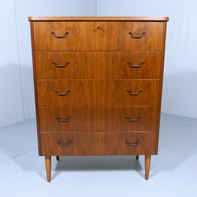 Vintage Chest of Drawers, 1950's