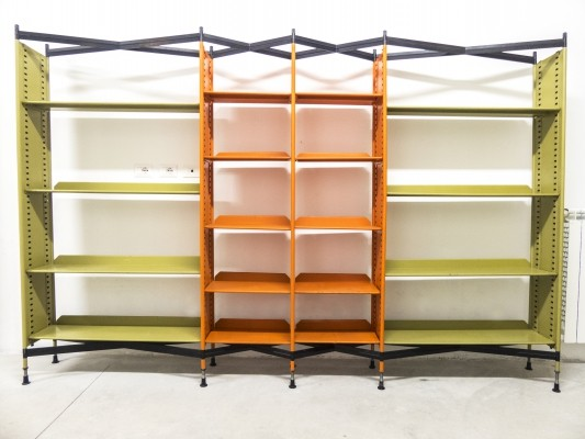 Combinable 'Spazio' Shelving System by Studio BBPR for Olivetti, 1960s