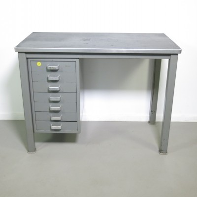 Small industrial desk by Gispen, 1950s