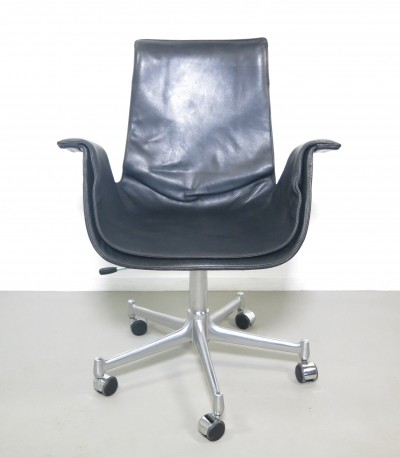 Model 6727 office chair by Preben Fabricius & Jørgen Kastholm for Kill International, 1960s