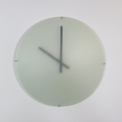 1st edition DK wall clock by Paul Schudel for Designum, 1980