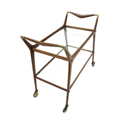 Italian mid-century cart by Ico Parisi for Angelo de Baggis, 1950s