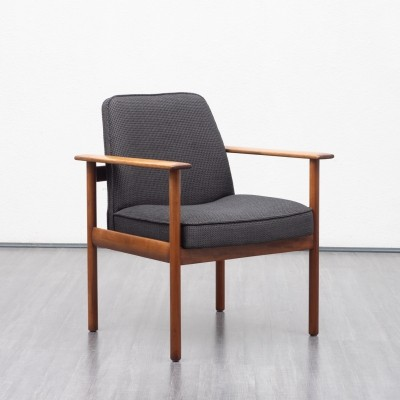 1960s teak conference chair / armchair