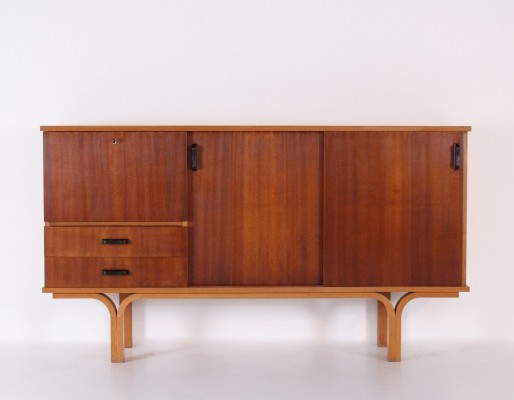 Highboard by Joseph André Motte for Groupe 4 Charron, 1955