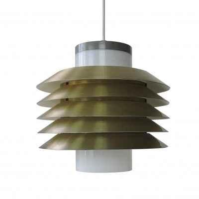 Danish suspension Light by LYFA, 1960's