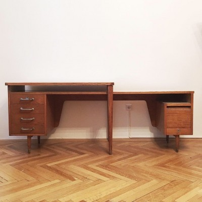 Original mid century writing desk, 1950s