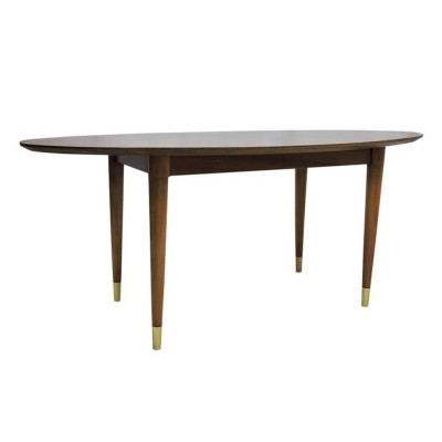 Vintage Oval Coffee Table in Afromosia