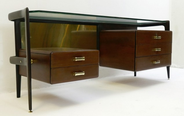 Writing desk by Silvio Cavatorta, 1960s