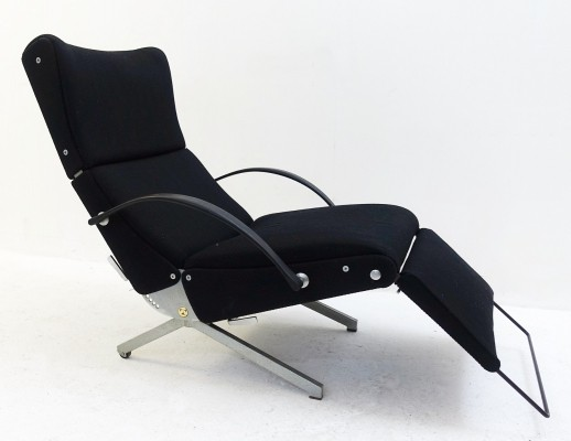 Lounge Chair P40 by Osvaldo Borsani for Tecno