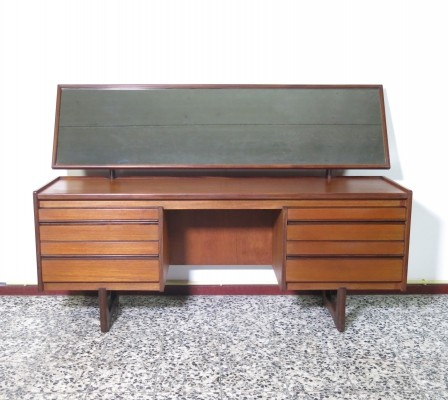 Teak dressing table with mirror by William Lawrence, 1960's