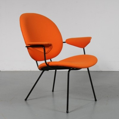 1950s Dutch easy chair by W. Gispen for Kembo