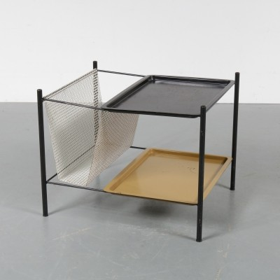 1950s Dutch metal side table by Pilastro