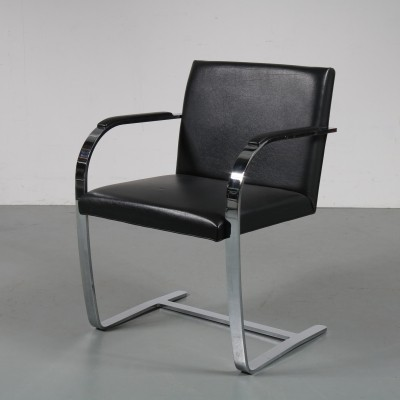 Black BRNO Chair by Ludwig Mies van der Rohe, 1960s