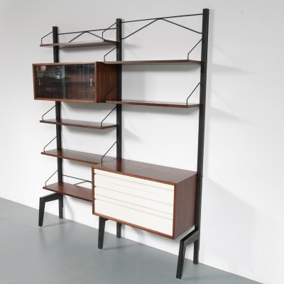 Rosewood wall system by Poul Cadovius, 1960s