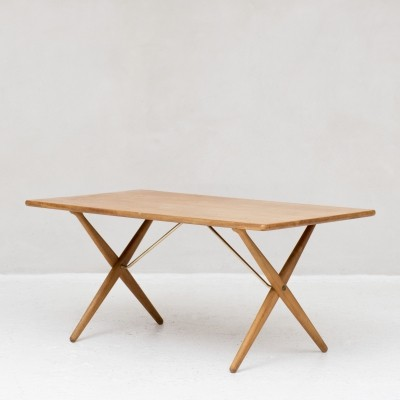 Model AT-303 'Saw Horse' Dining table by Hans J. Wegner, 1960s