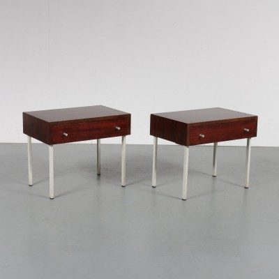 Pair of Rosewood night stands, 1960s